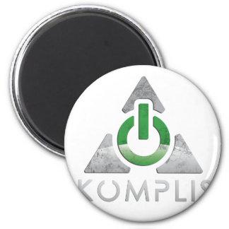 Classic Akomplish 2 Inch Round Magnet