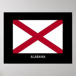 Classic Alabama Flag Poster