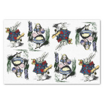 Classic Alice in Wonderland & White Rabbit Tissue Paper
