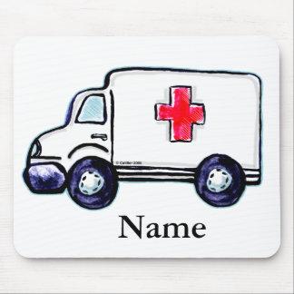 Classic Ambulance Mouse Pad