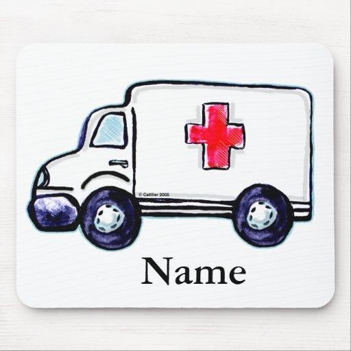 Classic Ambulance Mouse Pads