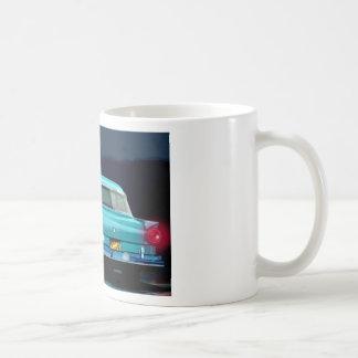 Classic American 50 S Style Automobile Coffee Mug