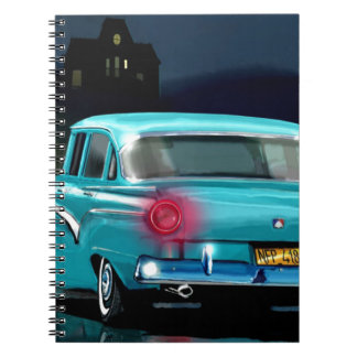 Classic American 50 S Style Automobile Note Book