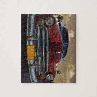 Classic American car in Vinales, Cuba Puzzle