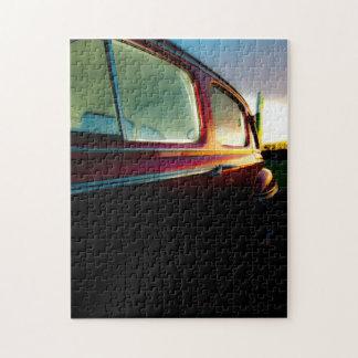 Classic American Car Puzzle/Jigsaw Jigsaw Puzzle
