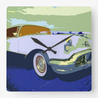 Classic American Car Wall Clock