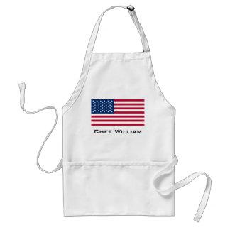 Classic American Flag Adult Apron