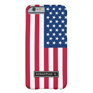 Classic American Flag Barely There iPhone 6 Case