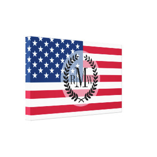Classic American Flag Canvas Print