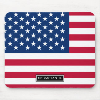 Classic American Flag Mouse Pad