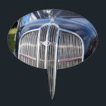 "Classic American Grille Cake Topper<br><div class=""desc"">Classic 1930s American car grille.</div>"