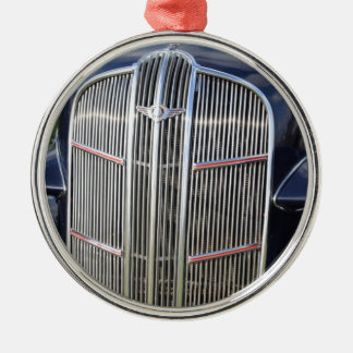 Classic American Grille Metal Ornament