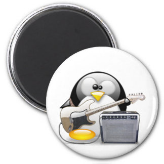 Classic American Guitar and Amplifier Tux 2 Inch Round Magnet