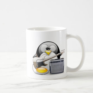 Classic American Guitar and Amplifier Tux Classic White Coffee Mug