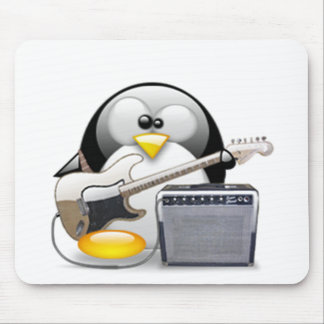 Classic American Guitar and Amplifier Tux Mouse Pad