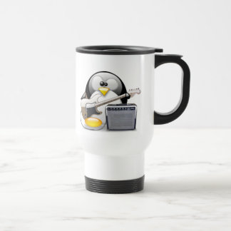 Classic American Guitar and Amplifier Tux 15 Oz Stainless Steel Travel Mug