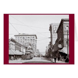 Classic Americana - Streets of Birmingham Alabama Card