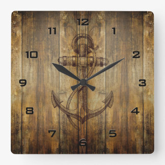Classic Anchor Wall Clock