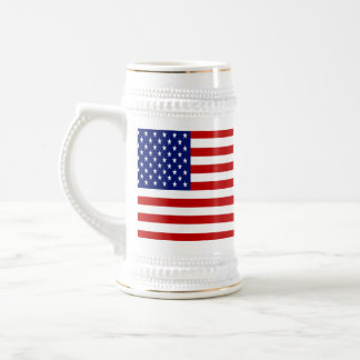Classic and Cool American Flag Patriotic Beer Stein