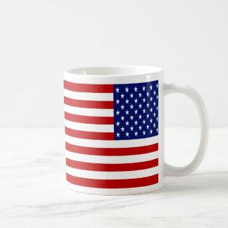 Classic and Cool American Flag Patriotic Coffee Mug