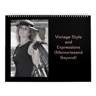 Classic and Vintage Styles of Holiday Past Calendar