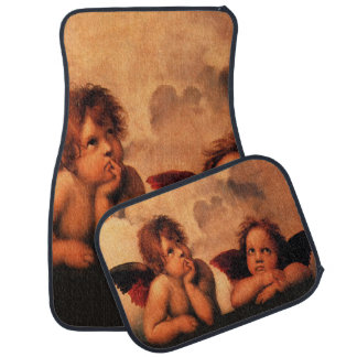 Classic Angelic Cherubs Car Floor Mat