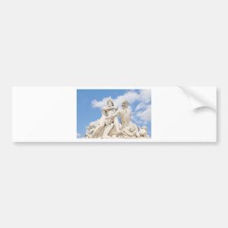 Classic architecture bumper sticker