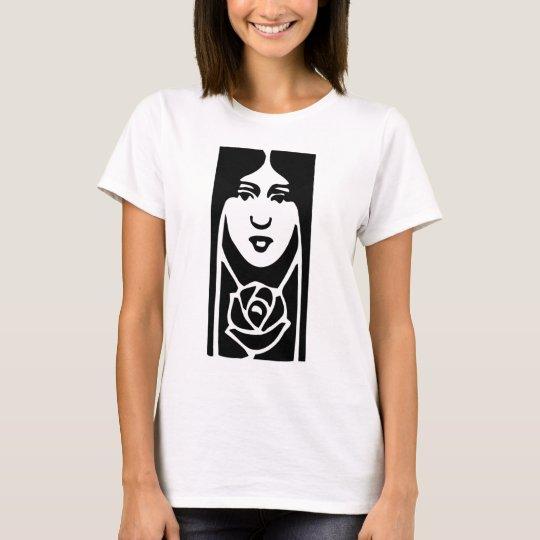 Classic Art Deco Woman T-Shirt