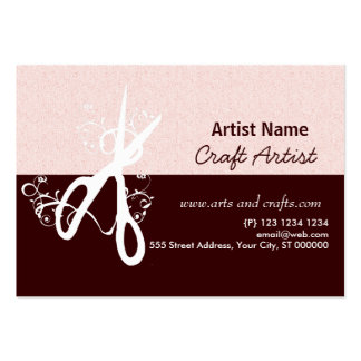 Classic Artist Arts and Crafts Business Card
