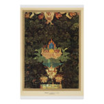 Classic Asian Art Hindu offerings 17th century Poster