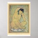 Classic Asian Art Japanese Lady Print