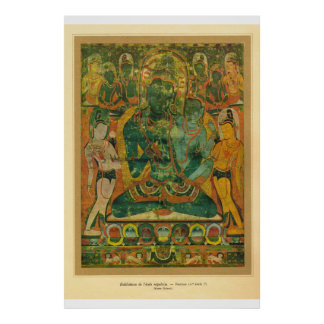 Classic Asian Art nepal Bodisatva 17th century Posters