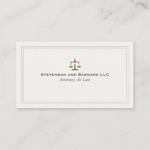 Classic business cards zazzle classic attorney justice scale business card colourmoves