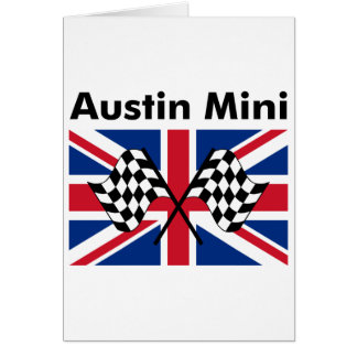 Classic Austin Mini Card