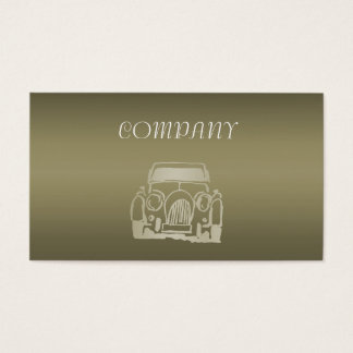 Classic AUTO Business Card Template