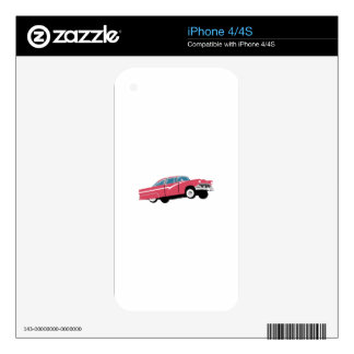 Classic Auto Skins For The iPhone 4
