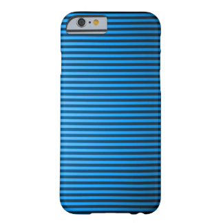 Classic Baby Blue Pinstripe Barely There iPhone 6 Case