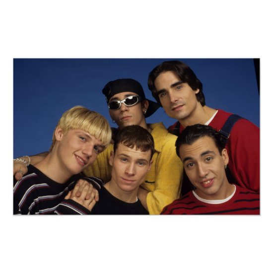 Classic Backstreet Boys Photo Poster