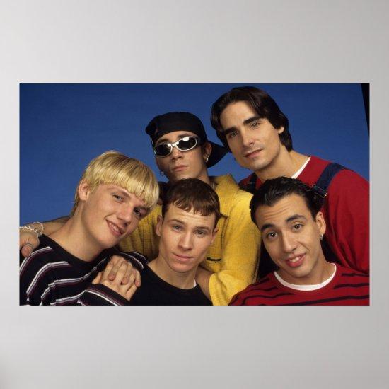 Classic Backstreet Boys Photo Poster