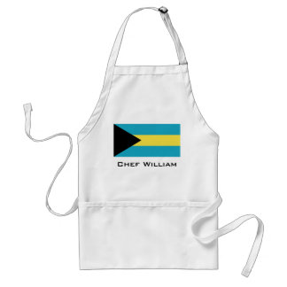 Classic Bahamian Flag Adult Apron