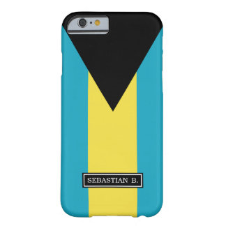 Classic Bahamian Flag Barely There iPhone 6 Case