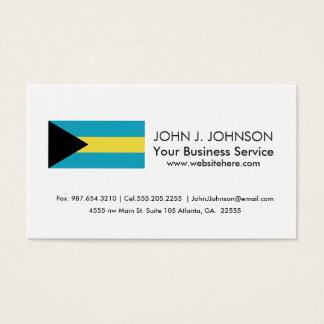 Classic Bahamian Flag Business Card