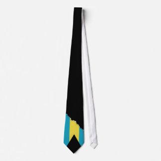 Classic Bahamian Flag Neck Tie