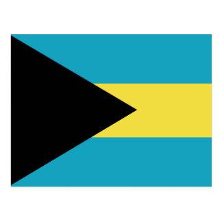 Classic Bahamian Flag Postcard