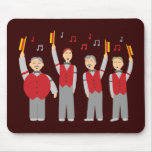 Classic Barbershop Quartet Mouse Pad