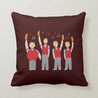 Classic Barbershop Quartet Pillow