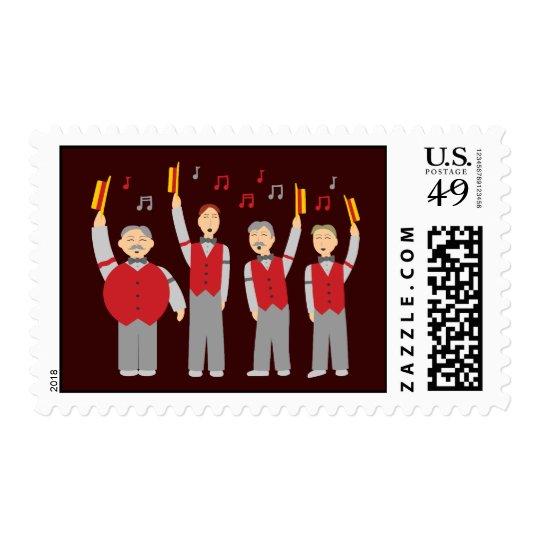 Classic Barbershop Quartet Postage