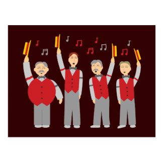 Classic Barbershop Quartet Postcard