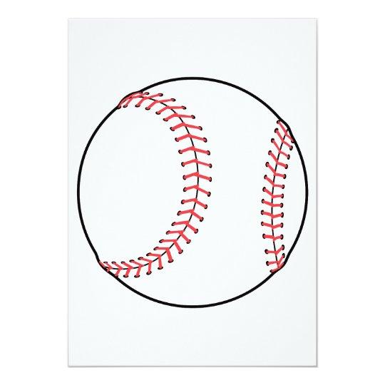 classic baseball design card