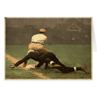 Classic Baseball Greetings Card